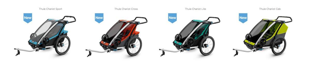 Thule Chariot - multifunkční sportovní vozíky