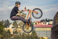 kola BMX freestyle a BMX race