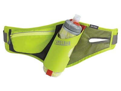 láhev/ledvinka CamelBak Delaney 0,6l Podium bottle-lime punch/ silver