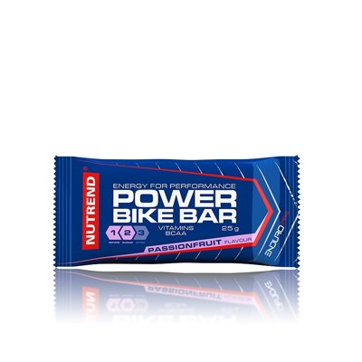 v.tyčinka Nutrend POWER BIKE BAR passion 25g