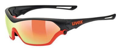 brýle UVEX SPORTSTYLE 705, BLACK MAT ORANGE (2316)