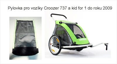 CROOZER - pyl.síť POLL-TEX KID FOR1 do 2009  černá