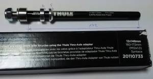 THULE AXLE adaptér Syntace X-12 (M12x1,0) 160-172mm BOOST #20110733