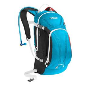 batoh CamelBak Mule-charcoal/ atomic blue/ barbados cherry-3l
