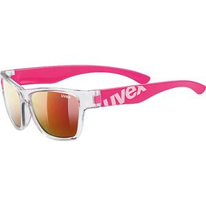 18 UVEX BRÝLE SPORTSTYLE 508 CLEAR PINK/MIR. RED (